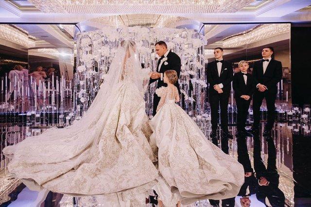 Дорожче, ніж в Каменських: як виглядало найрозкішніше весілля 2019 року в Україні - фото 370930