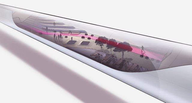 Інженери представили футуристичний концепт 'літаючого' поїзда - фото 371373