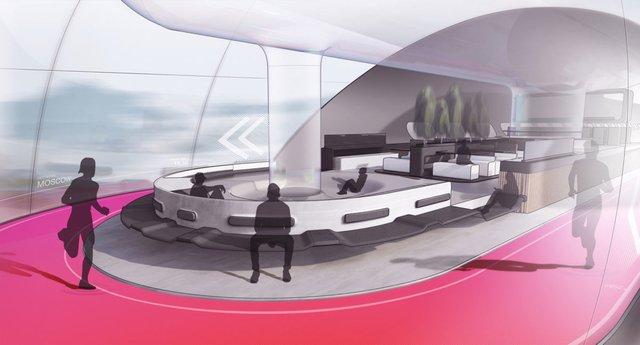 Інженери представили футуристичний концепт 'літаючого' поїзда - фото 371374