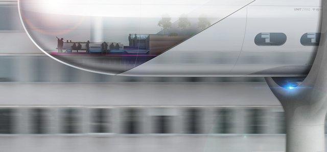 Інженери представили футуристичний концепт 'літаючого' поїзда - фото 371375