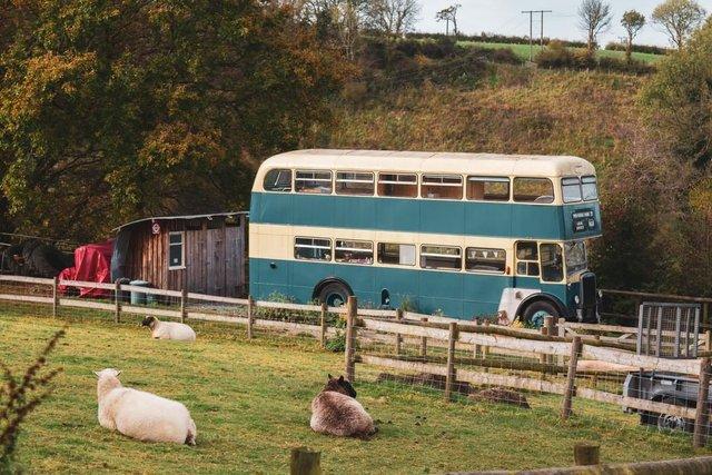 Як у Гаррі Поттері: британці відкрили готель у двоповерховому автобусі - фото 371402