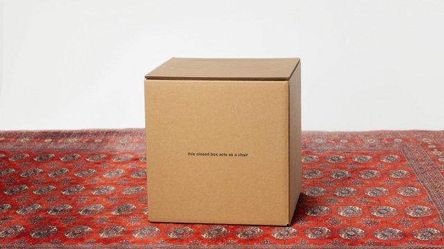 У США розробили табуретку з картону за 80 доларів - фото 371635