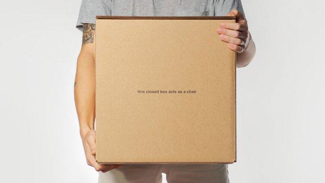 У США розробили табуретку з картону за 80 доларів - фото 371636