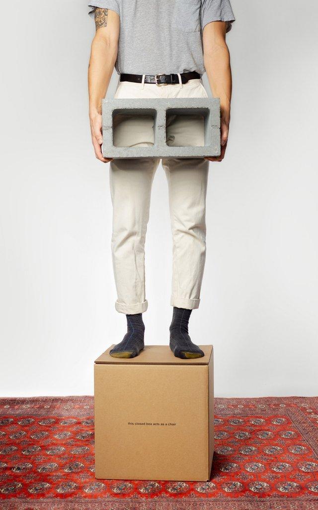У США розробили табуретку з картону за 80 доларів - фото 371638