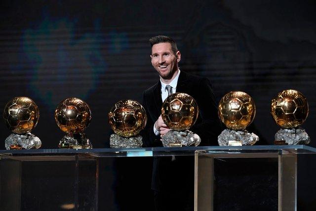 Мессі і його 6 Золотих м'ячів - фото 371902