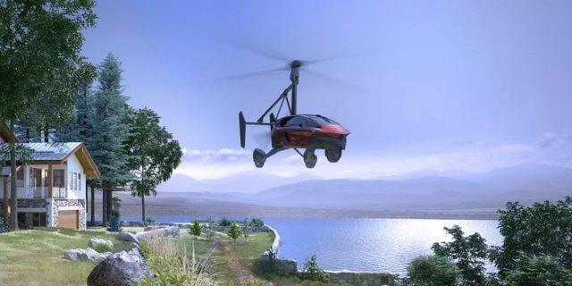 У США представили прототип літаючого автомобіля - фото 372231