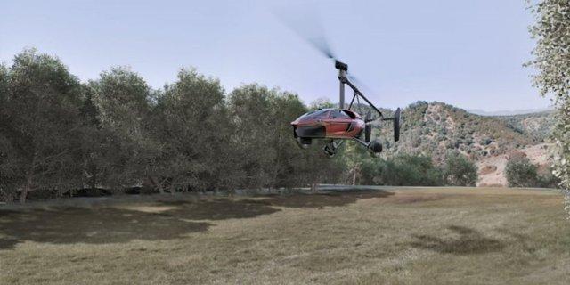 У США представили прототип літаючого автомобіля - фото 372232