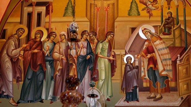 Введення у храм Пресвятої Діви Марії. - фото 372349