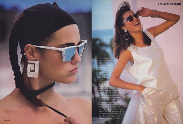 Моделі 90-х: як змінилася найбільш високооплачувана англійка Ясмін Ле Бон (18+) - фото 372363