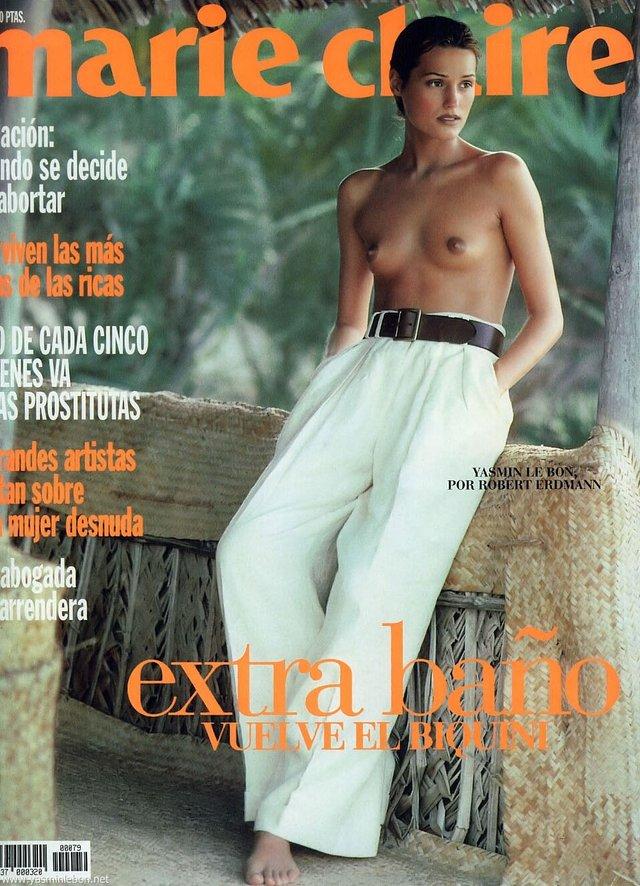 Моделі 90-х: як змінилася найбільш високооплачувана англійка Ясмін Ле Бон (18+) - фото 372372