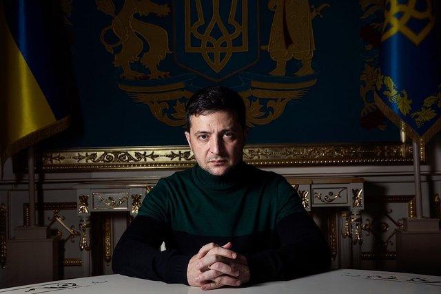 Зеленський дав інтерв'ю Time - фото 372379