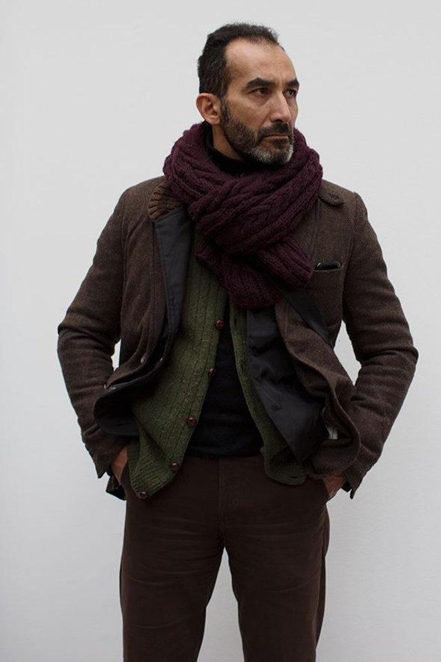 Чоловічі шарфи: 5 стильних варіантів для зими 2020 - фото 372550