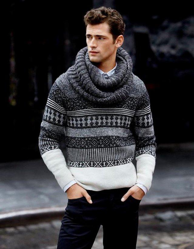 Чоловічі шарфи: 5 стильних варіантів для зими 2020 - фото 372551