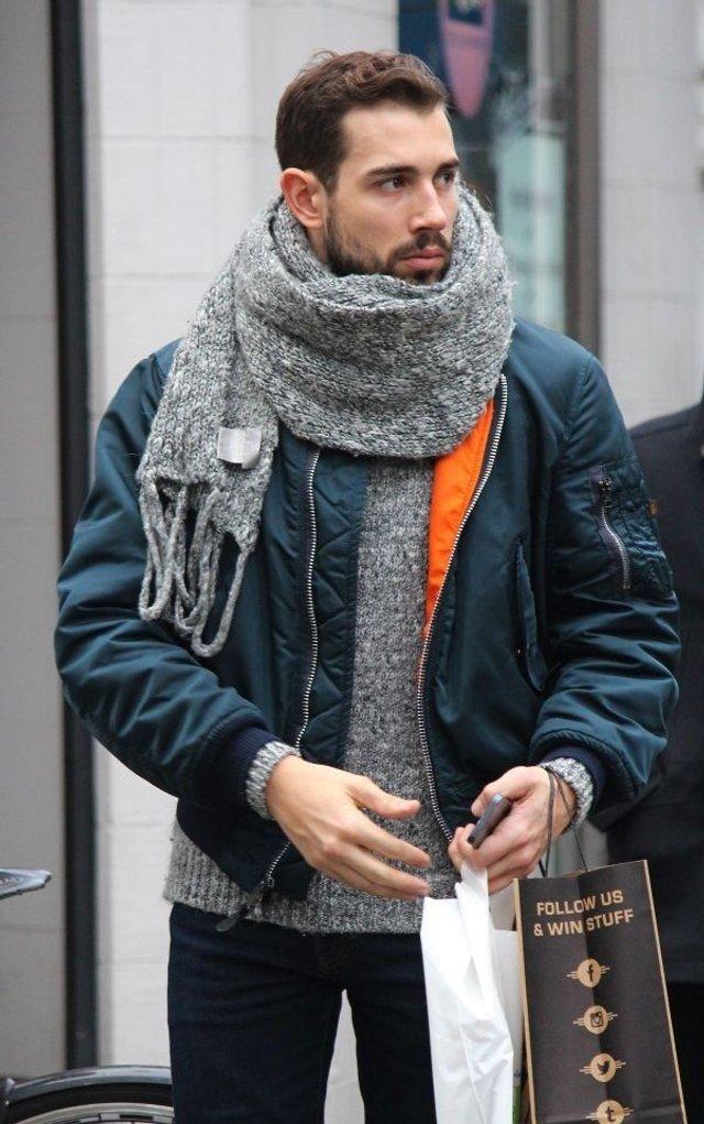 Чоловічі шарфи: 5 стильних варіантів для зими 2020 - фото 372552