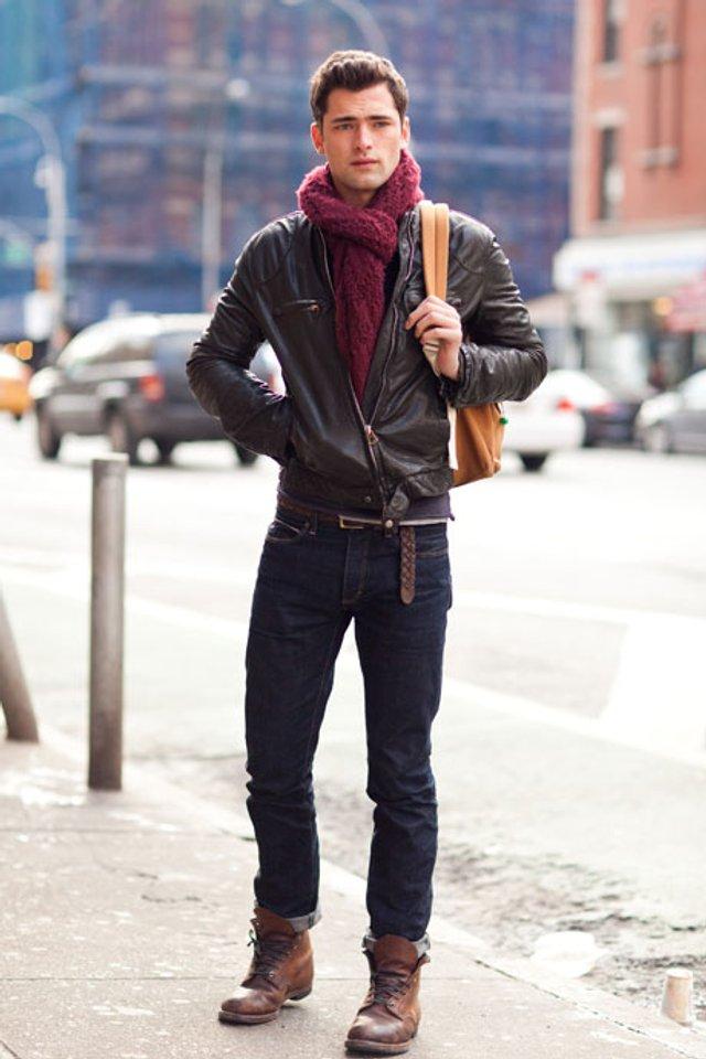 Чоловічі шарфи: 5 стильних варіантів для зими 2020 - фото 372553