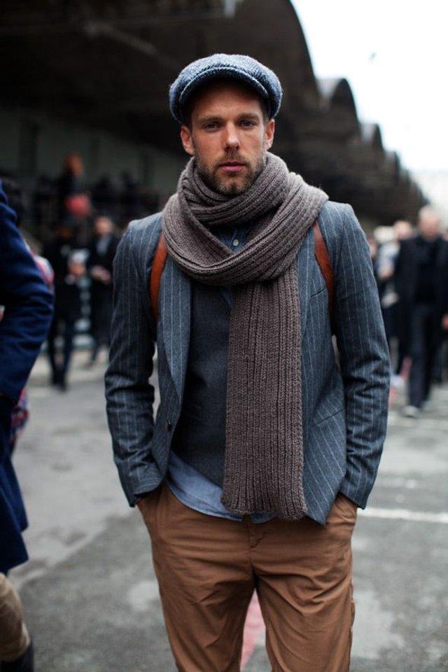 Чоловічі шарфи: 5 стильних варіантів для зими 2020 - фото 372554