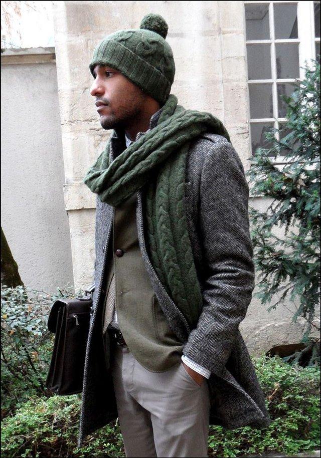 Чоловічі шарфи: 5 стильних варіантів для зими 2020 - фото 372555