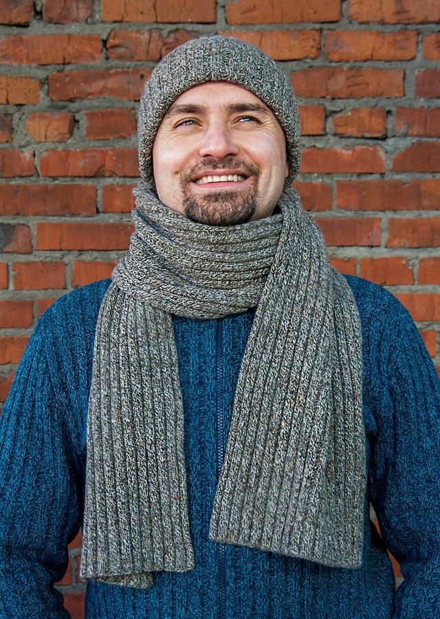 Чоловічі шарфи: 5 стильних варіантів для зими 2020 - фото 372557