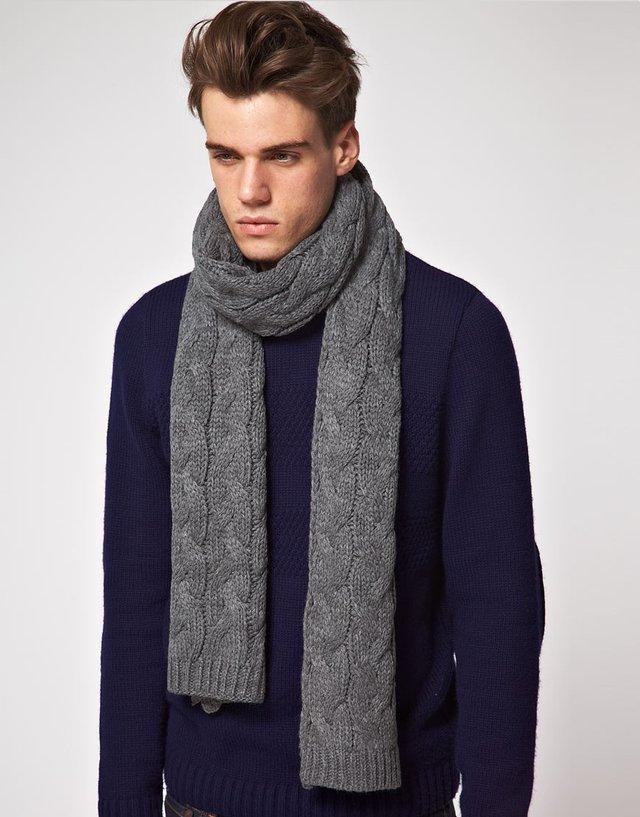 Чоловічі шарфи: 5 стильних варіантів для зими 2020 - фото 372558