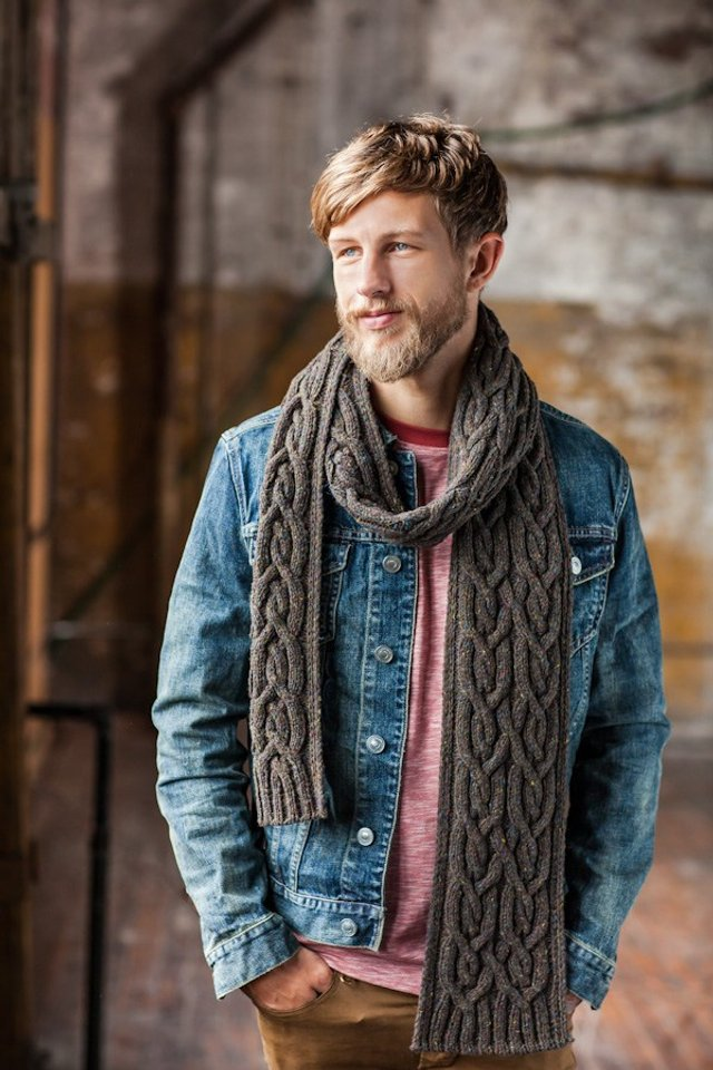 Чоловічі шарфи: 5 стильних варіантів для зими 2020 - фото 372559