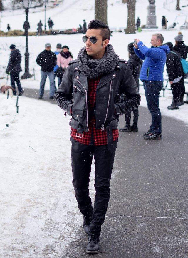 Чоловічі шарфи: 5 стильних варіантів для зими 2020 - фото 372561