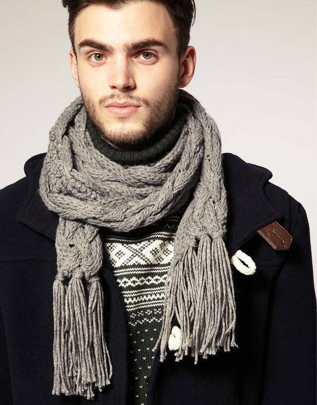 Чоловічі шарфи: 5 стильних варіантів для зими 2020 - фото 372562