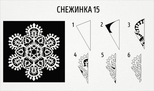 Трафарети на Новий рік: шаблони, як зробити витинанки для вікон - фото 372732