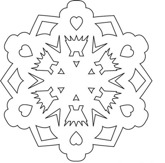 Трафарети на Новий рік: шаблони, як зробити витинанки для вікон - фото 372733