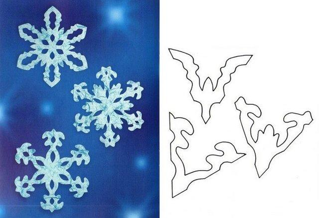 Трафарети на Новий рік: шаблони, як зробити витинанки для вікон - фото 372738