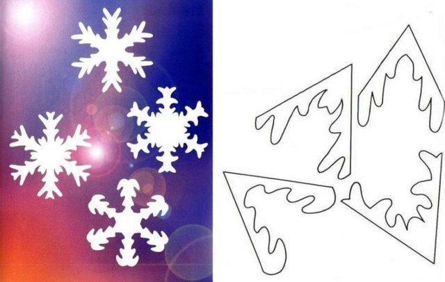 Трафарети на Новий рік: шаблони, як зробити витинанки для вікон - фото 372739