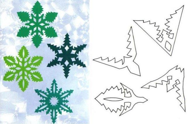 Трафарети на Новий рік: шаблони, як зробити витинанки для вікон - фото 372740