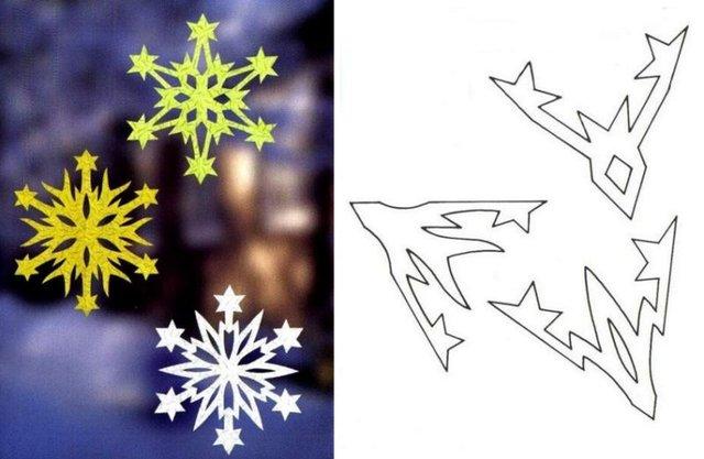 Трафарети на Новий рік: шаблони, як зробити витинанки для вікон - фото 372742