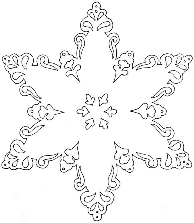 Трафарети на Новий рік: шаблони, як зробити витинанки для вікон - фото 372744