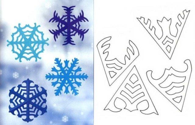 Трафарети на Новий рік: шаблони, як зробити витинанки для вікон - фото 372745