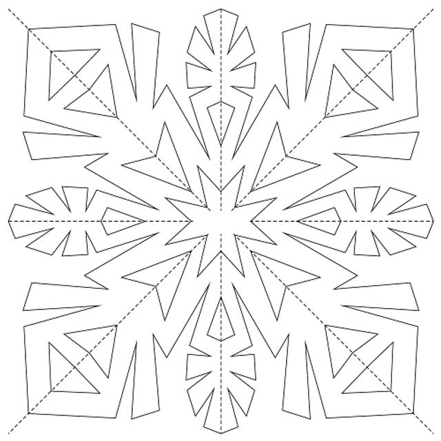 Трафарети на Новий рік: шаблони, як зробити витинанки для вікон - фото 372746