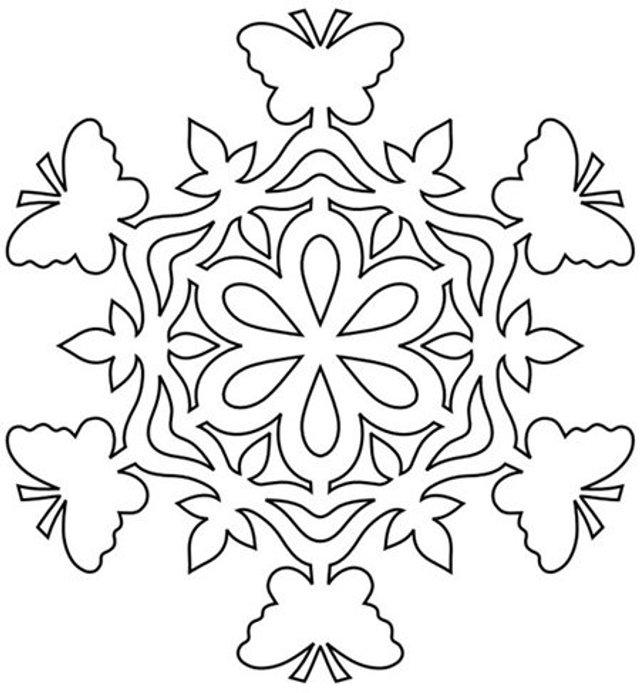 Трафарети на Новий рік: шаблони, як зробити витинанки для вікон - фото 372747