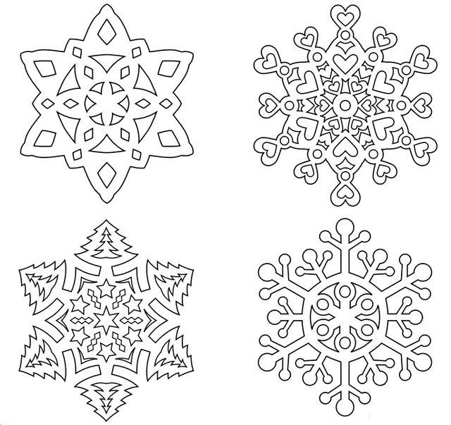 Трафарети на Новий рік: шаблони, як зробити витинанки для вікон - фото 372748