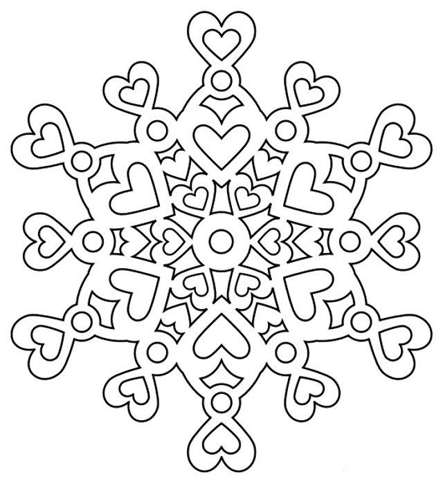 Трафарети на Новий рік: шаблони, як зробити витинанки для вікон - фото 372749