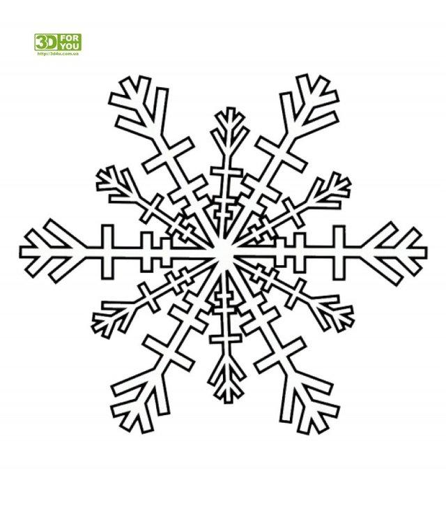Трафарети на Новий рік: шаблони, як зробити витинанки для вікон - фото 372751