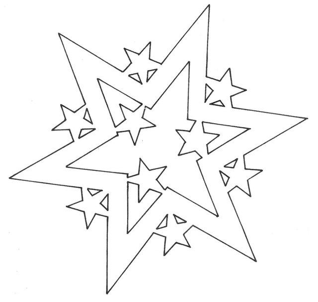 Трафарети на Новий рік: шаблони, як зробити витинанки для вікон - фото 372754