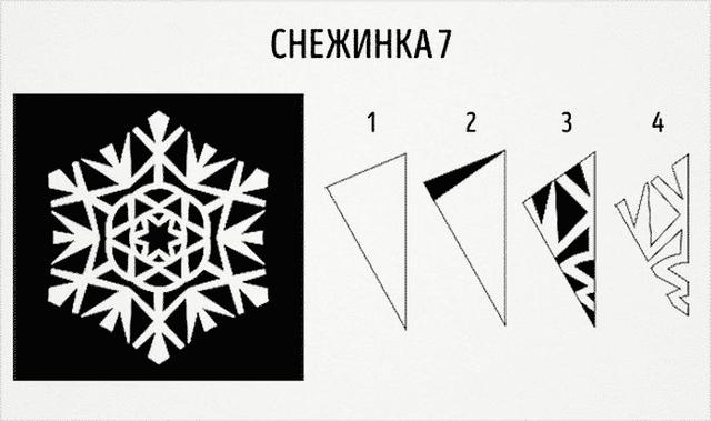 Трафарети на Новий рік: шаблони, як зробити витинанки для вікон - фото 372755