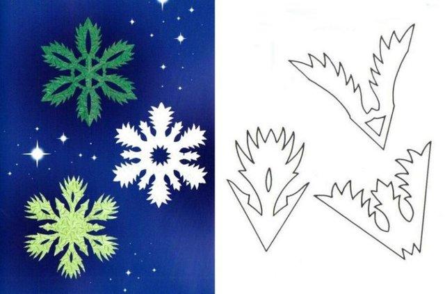 Трафарети на Новий рік: шаблони, як зробити витинанки для вікон - фото 372757