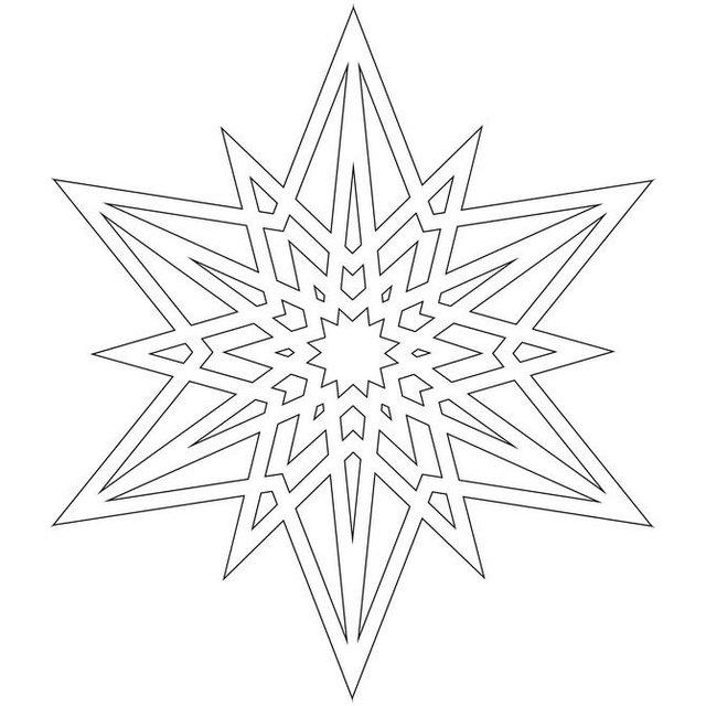 Трафарети на Новий рік: шаблони, як зробити витинанки для вікон - фото 372758