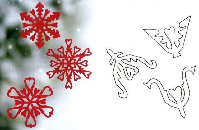 Трафарети на Новий рік: шаблони, як зробити витинанки для вікон - фото 372761
