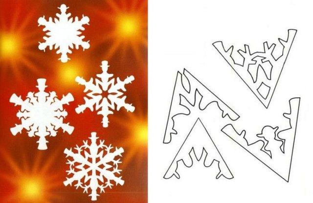 Трафарети на Новий рік: шаблони, як зробити витинанки для вікон - фото 372762