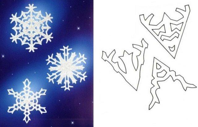 Трафарети на Новий рік: шаблони, як зробити витинанки для вікон - фото 372763