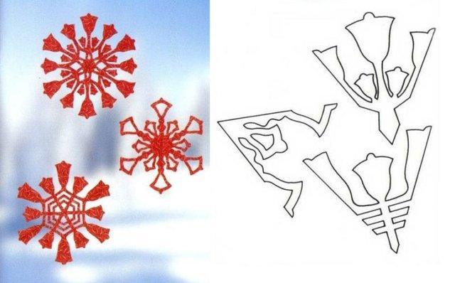 Трафарети на Новий рік: шаблони, як зробити витинанки для вікон - фото 372764