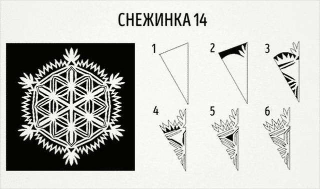 Трафарети на Новий рік: шаблони, як зробити витинанки для вікон - фото 372765