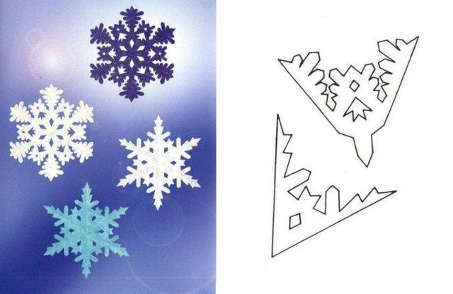Трафарети на Новий рік: шаблони, як зробити витинанки для вікон - фото 372766