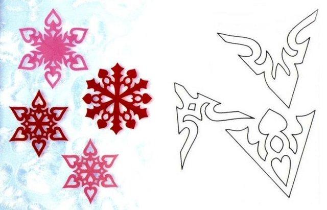 Трафарети на Новий рік: шаблони, як зробити витинанки для вікон - фото 372767